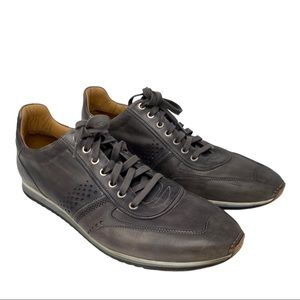 Magnanni Christian luxury gray sneakers leather 13